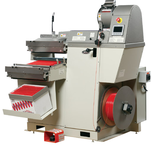 The NCF6 Concept Former manufactured by Gateway Bookbinding Systems Ltd.